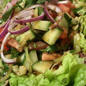 Bauernsalat, Salat