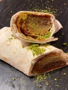 Baklava Wrap Nachtisch Dessert